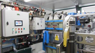 containerised breathing-air systems