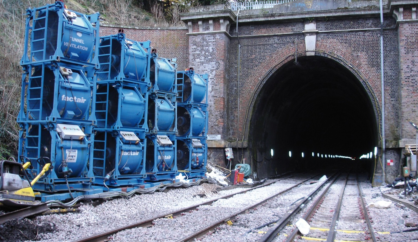 TEMPORARY TUNNEL VENTILATION & MONITORING